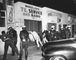 Search for weapons, Watts Riots
