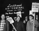 Pickets at Lockheed