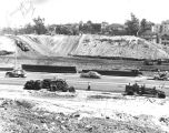 Freeway construction, Bunker Hill