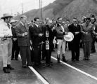 Opening day ceremonies at Cahuenga Pass