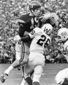 USC's great Hal Bedsole (19) gathers TD pass