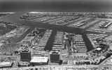 Marina del Rey, an aerial view