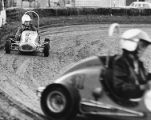 Quarter midget races in Van Nuys thrill parents