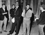 Dodgers rehearse with Joey Bishop