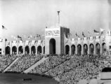 Coliseum for the 1932 Olympics Games