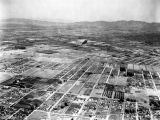 Aerial view of United Airport in Burbank