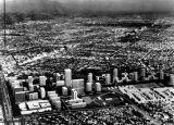 Aerial view of proposed Century City project