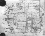 Floor plan for the 1960 Democratic National Convention