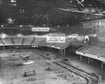Sports Arena interior under construction