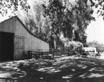 Barn at the Leonis Adobe