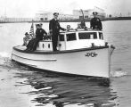 First patrol boat, Los Angeles Harbor