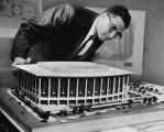 Dorothy Chandler Pavilion model