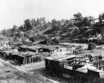 View of slum housing, Fickett Hollow