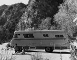 Motor home camping