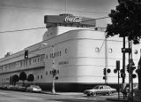 Coca-Cola Building, a famous Los Angeles landmark