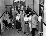 Extra-long line of voters