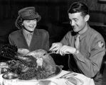 World War II era Thanksgiving Dinner