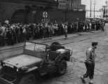 Japanese leaving for internment camp