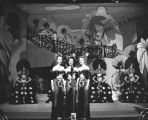 Chorus girls on stage, Earl Carroll