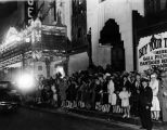 Gala opening premiere, Pantages Theatre