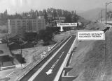 Unopened section of Hollywood Freeway
