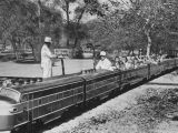 Miniature train in Griffith Park