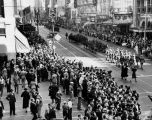 Armistice day parade in Los Angeles, 1936