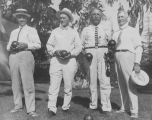 The Los Angeles Team lawn bowlers