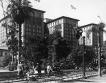 Pershing Square and Biltmore Hotel