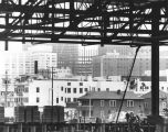 Steel truss construction, Convention Center