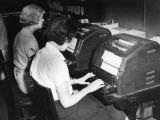 Teletype operators at Central Casting