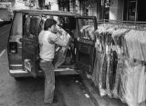 Delivering clothes in the Garment District