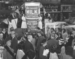 'Milk Float' tours city on mercy mission