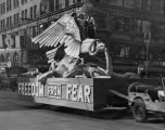 'Freedom from Fear' parade float