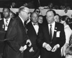 Gov. Edmund Brown and Frank Sinatra