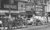 Horse-drawn carriages in Los Angeles
