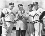 Eisenhower at Angels training camp