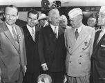 National and State leaders welcome Ike