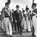 Eisenhower visits military academy