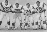 """Fearsome Foursome"", Lundy, Grier, Olsen and Jones"