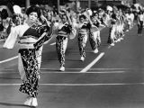 Japanese dancers on First Street