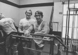 Arnold Schwarzenegger and Ken Sprague