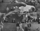 Charlie Dumas clears 7-foot barrier