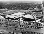 Anaheim Convention Center, aerial