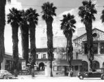 Pasadena Playhouse, exterior view