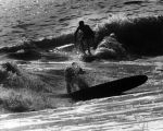 Two surfers, San Clemente Beach