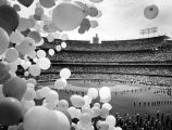 Bands and balloons, Dodger Stadium