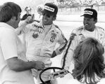 Johnny Rutherford and A.J. Foyt