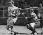 Vince DiMaggio at bat