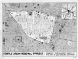 Temple Urban Renewal Project map